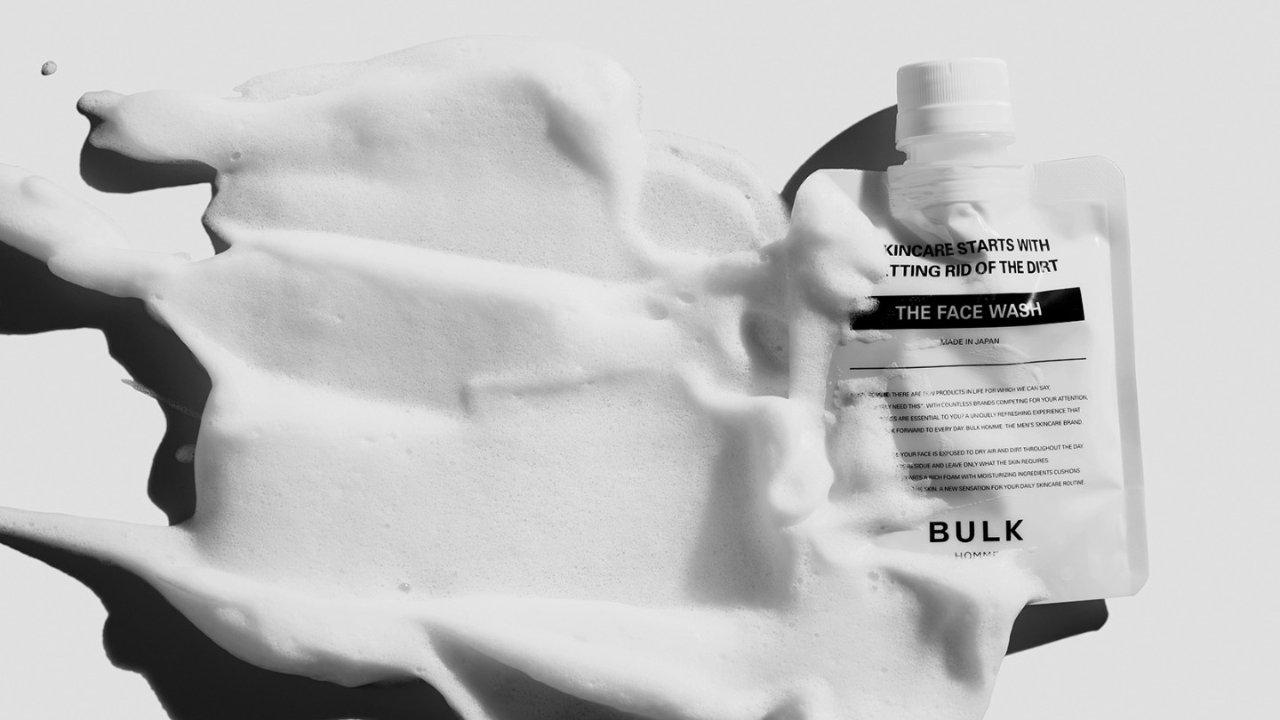 木村拓哉同款BULK HOMME 男士护肤明星系列 怎样给老公选洁面护肤美发产品