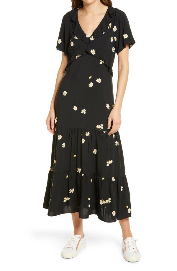 小雏菊连衣裙