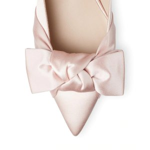THE CHINARA 丝绸穆勒鞋