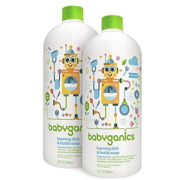 婴儿专用餐具奶瓶泡沫清洗剂