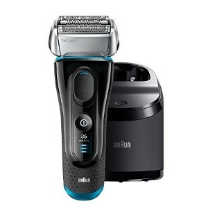 $99.94 Braun Electric Razor for Men/Electric Shaver, Series 5 5190cc, Rechargeable with Clean & Charge Station
