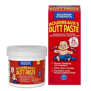 20% off + extra 5% offBoudreaux's Butt Paste Diaper Rash Ointment | Maximum Strength | 14 Oz and 2 Oz
