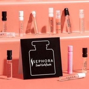 全场7.5折 €12.7收Gucci记忆之水Sephora 迷你香水专场 收Chloe、Dior、Gucci 小只Q香随心换