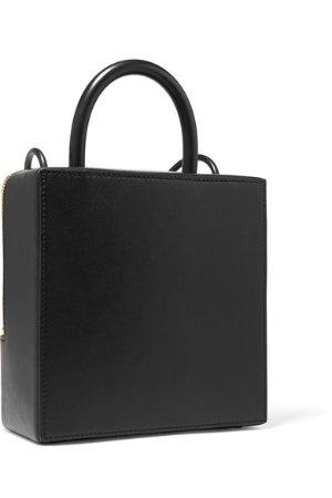 Building Block | Box leather shoulder bag | NET-A-PORTER.COM