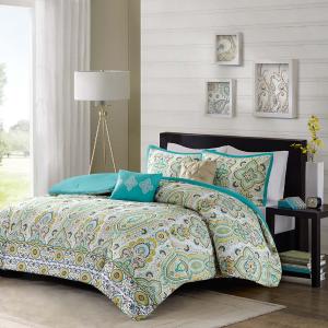 $24.99Dealmoon Exclusive: Tasia Comforter set @ Designer Living