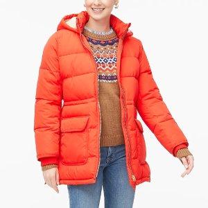 J.CrewPuffer jacket