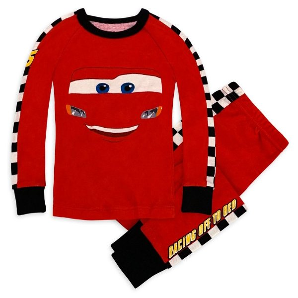 Lightning McQueen PJ PALS 婴儿、幼童睡衣套装
