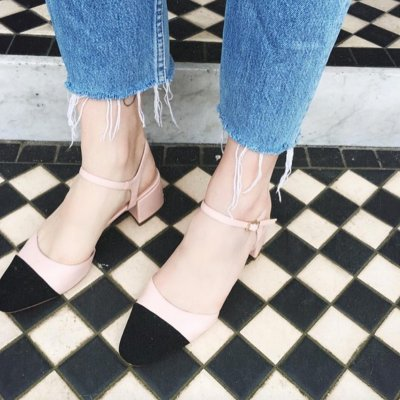 3c19894e77 with Purchase of $150 JOLENE Toe Cap Block Heels @ TopShop $25 Off -  Dealmoon