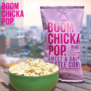 Starting from $10.98Angie's BOOMCHICKAPOP popcorn, 0.6 Ounce Bag (Pack of 24)