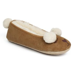 Ladies Tedworth Sheepskin 拖鞋