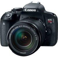 Canon EOS Rebel T7i DSLR + 18-135mm 镜头