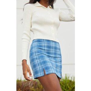 Plaid Cara Skirt