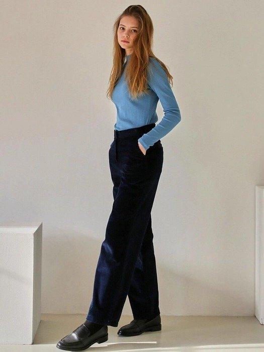 灯芯绒休闲裤