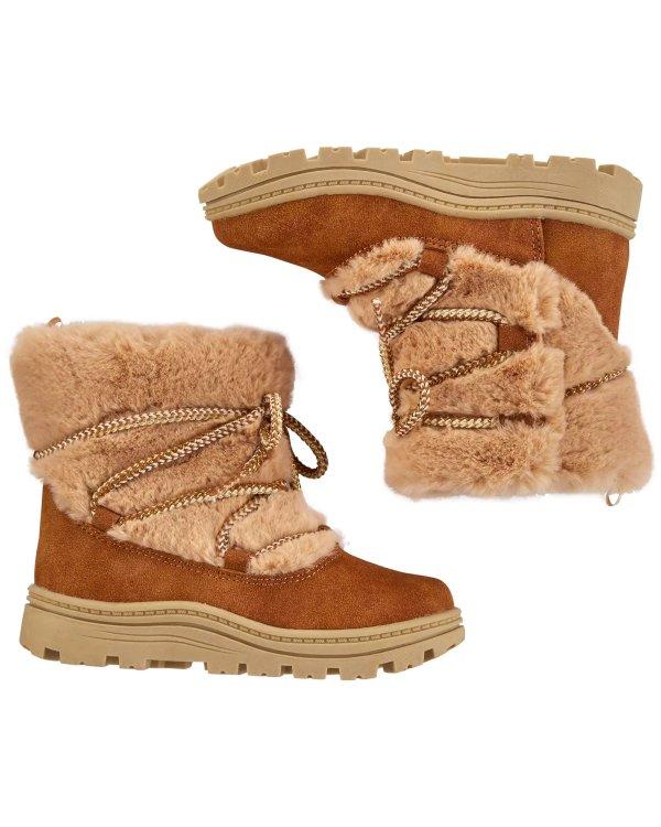 儿童保暖靴