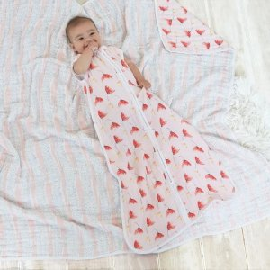 ADEN + ANAIScotton muslin light sleeping bag 1.0 tog picked for you