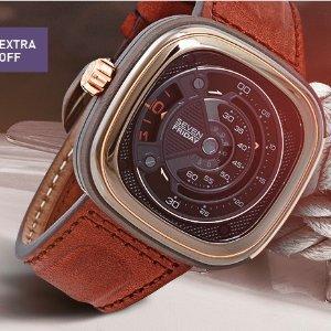 仅$625(原价:$1600)好价限时特卖:Sevenfriday M系列男士腕表 变相3.9折
