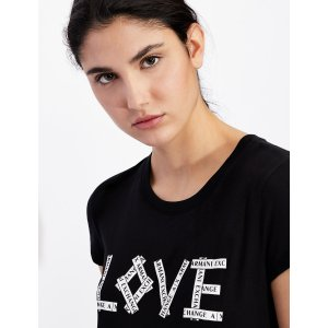 Armani ExchangeSLIM FIT T SHIRT, Graphic T Shirt for Women | A|X Online Store