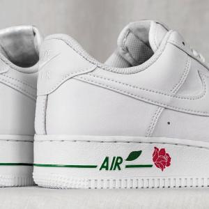 """定价$180 2月25日晚9点新品预告:Nike Air Force 1 惊艳""""红玫瑰"""" 粉白双色来袭"""