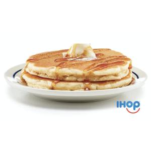 免费得两个原味酪乳煎饼限今天:T-Mobile Tuesday 周二限时活动 IHOP福利