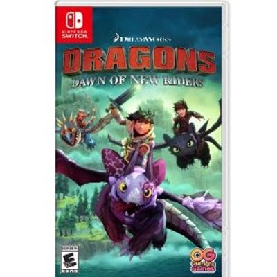 DreamWorks Dragons Dawn of New Riders - Nintendo