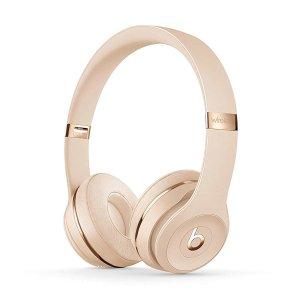 Beats by Dr. DreSolo 3 耳机 镀金