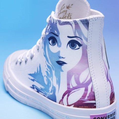 低至$35 经典Chuck 70 $110新品上市:Converse x Frozen 2 梦幻冰雪系列开售