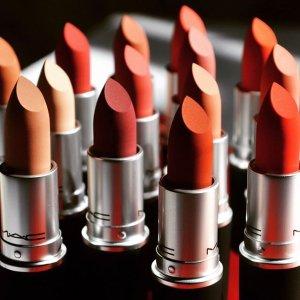低至7.5折MAC Cosmetics官网 经典明星产品子弹头唇膏热卖