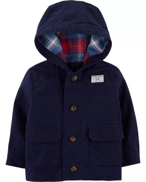 婴儿连帽外套
