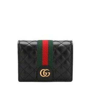 GucciLeather Card Case with Double G
