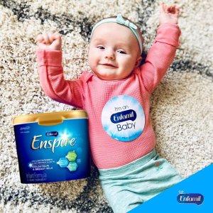 买4罐立减$20 变相8.8折Enfamil Enspire 婴儿配方奶粉热卖 1岁内宝宝必备