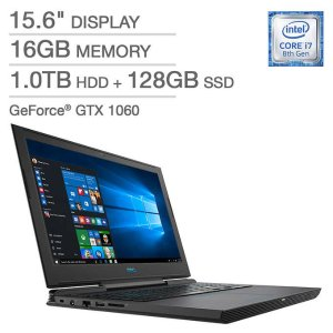 $949.99 w/ free Black Ops 4Dell G7 7588 Laptop (i7 8750H, 16GB, 1060, 128GB+1TB)