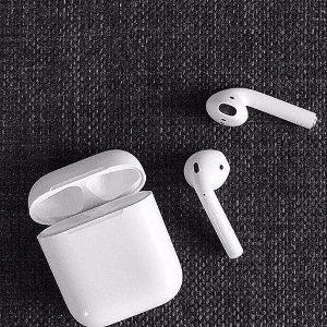 8折 + 包邮  颜值与逼格齐飞Apple Airpods 无线蓝牙耳机