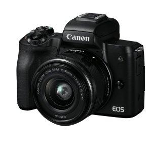 $679 (原价$849)+回国退税Canon佳能 EOS M50 高清入门必备相机套机 宋祖儿同款