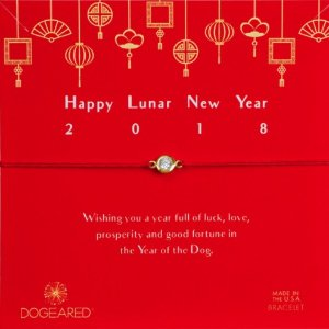 $25 + 包邮补货:Dogeared Happy Lunar New Year 红绳