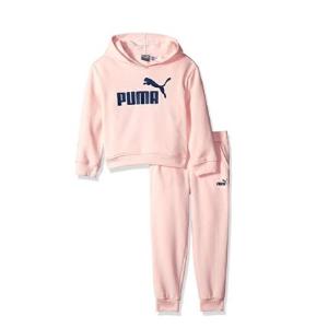 $33.68起(官网约$80)PUMA 女童加绒运动套装 秋冬就给娃们选它 活力十足