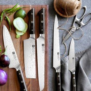 低至5折 £74收刀具套装Zwilling 双立人刀具专场 厨具界的扛把子 超火的德国网红厨具