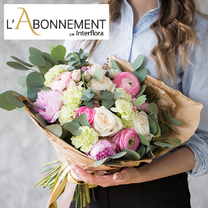 立减€10 €199起Interflora官网 每月鲜花订购半年期热卖中 生活需要仪式感