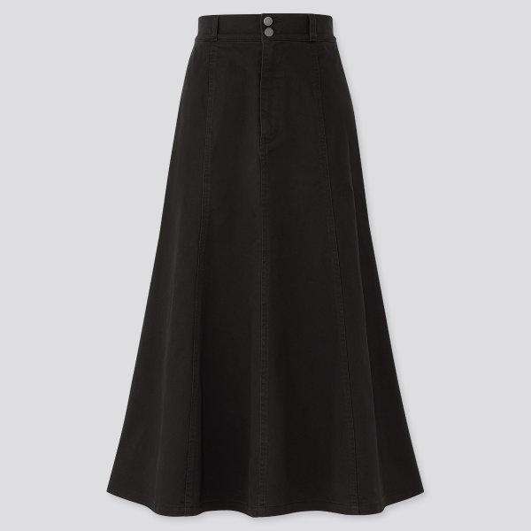 高腰半身裙