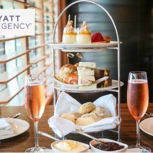 $69(原价$118) 超值双人餐 甜点美食任点Sailmaker Hyatt Regency 悉尼凯悦酒店自助下午茶
