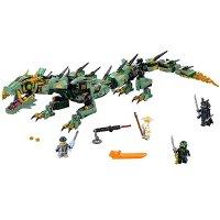 Lego Ninjago 幻影忍者 绿忍者的飞天机甲神龙 70612