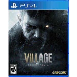 生化危机8:村庄 PS4 实体版