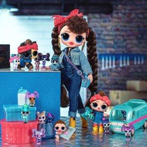 低至6.6折 $6收间谍姐妹盲盒L.O.L 盲盒娃娃热卖 祝绪丹同款娃娃 三层娃娃屋立减$80.95