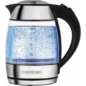 $30.99(原价$39.99)Chefman 1.8L烧水壶/煮茶器 红枣茶煮起来