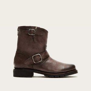 复古风短靴