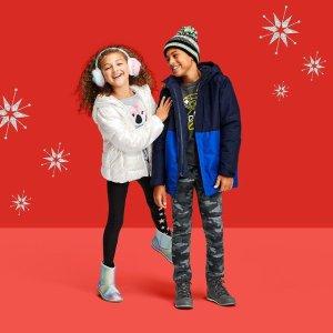 低至4折 3合1冲锋衣$49The Children's Place 宝宝羊羔毛、冲锋衣外套大促