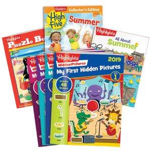 4折起Highlights 趣味儿童书夏季促销 美国第一儿童杂志品牌