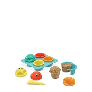 12-Piece Sunny Patch Seaside Sidekicks Sand Cupcake Set