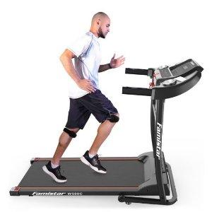 $399.99(原价$999.99)Walmart官网  Famistar W500C 家用健身跑步机