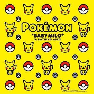 10月31日发售预告:A BATHING APE x Pokémon 联名系列即将登场