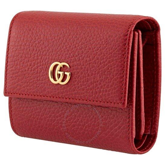 Gg Marmont红色钱包